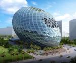Яйцеобразное здание от Cybertecture. Бомбей