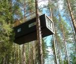 Отель на деревьях. Швеция