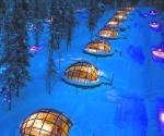 Отель с прозрачной крышей. Финляндия
