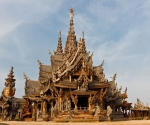 Храм Истины. Тайланд.