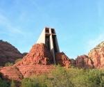 Часовня в скале. Штат Аризона