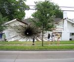 Дырка-дом. Штат Техас