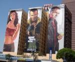 Реклама игры Grand Theft Auto IV